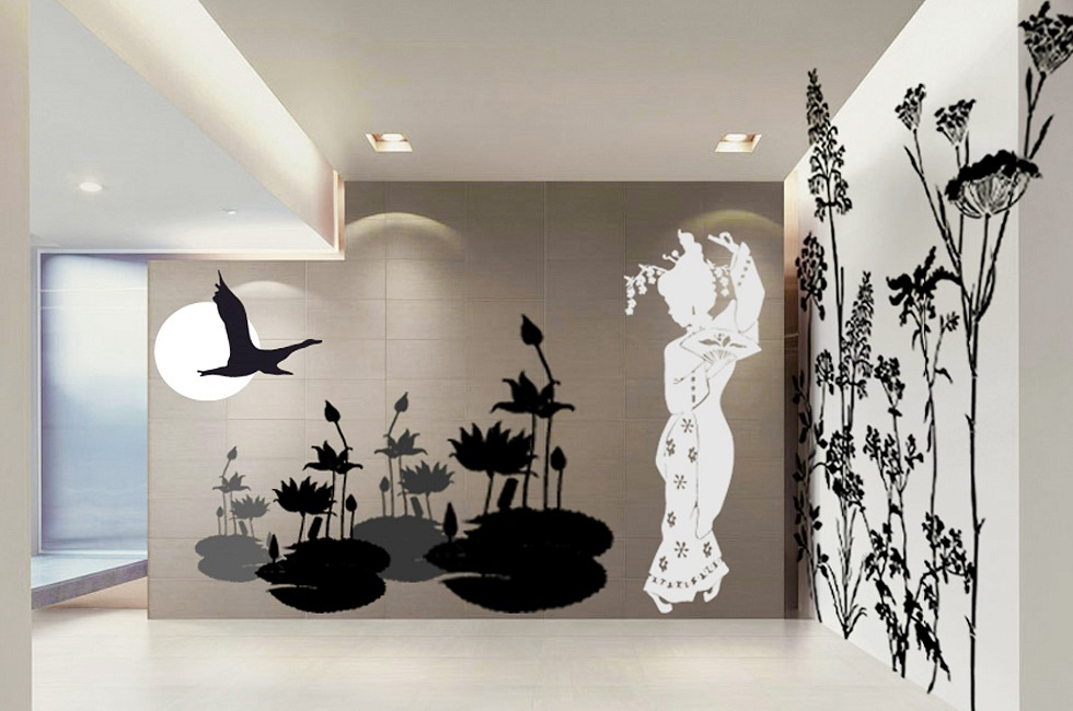 Adesivi da parete by i coloratissimi wall stickers firmati silvia massa - Stickers da parete personalizzati ...