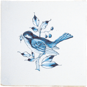 Blue dutch tile 3