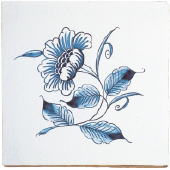Blue dutch tile 5
