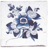 Blue dutch tile 2