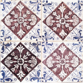 Colored dutch tile 1